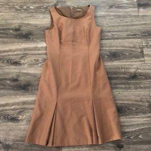 Ann Taylor tan/brown dress no dress size - reposh